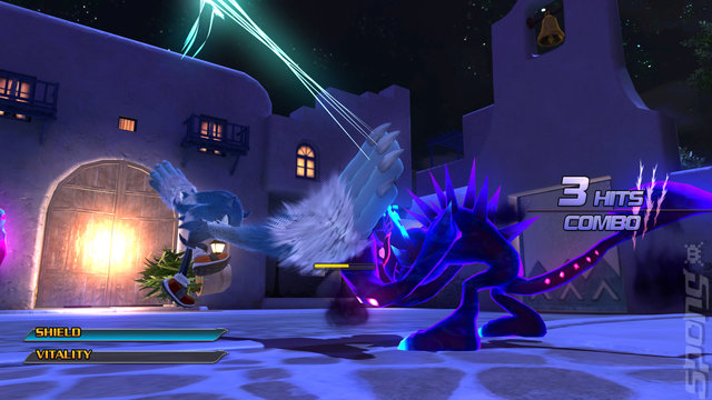 Sonic Unleashed - PS3 Screen