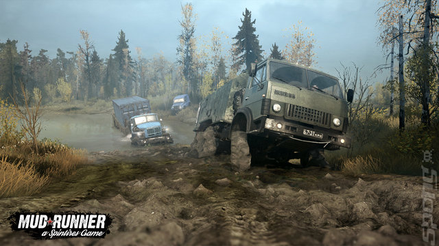 Spintires: MudRunner: American Wilds Edition - PS4 Screen