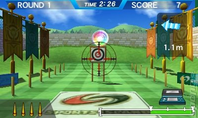 Sports Island 3D - 3DS/2DS Screen