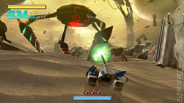 StarFox Zero - Wii U Screen