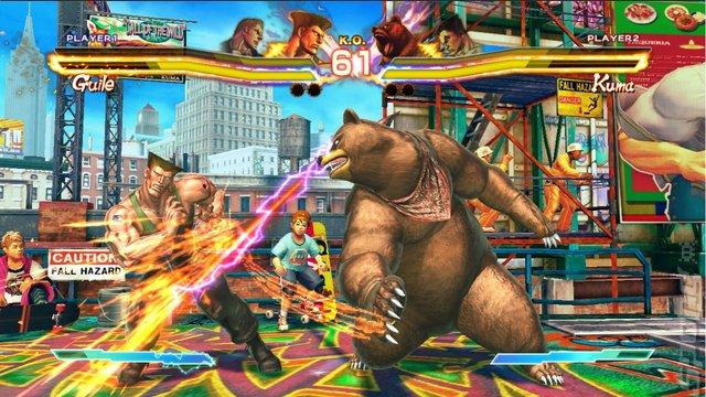 Street Fighter X Tekken - Xbox 360 Screen