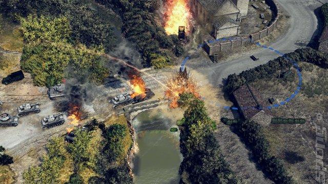 Sudden Strike 4 - PS4 Screen