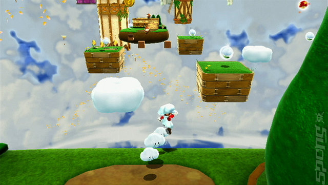 Super Mario Galaxy 2 - Wii Screen