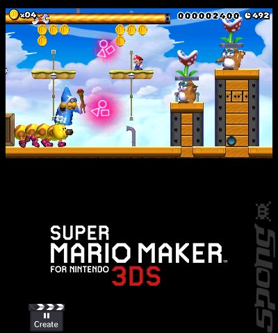 Super Mario Maker - 3DS/2DS Screen