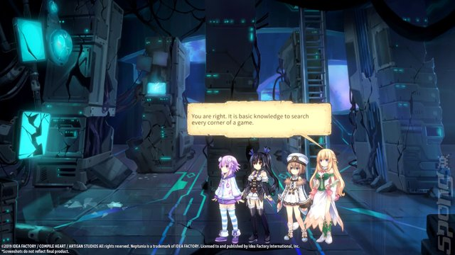 Super Neptunia RPG - Switch Screen