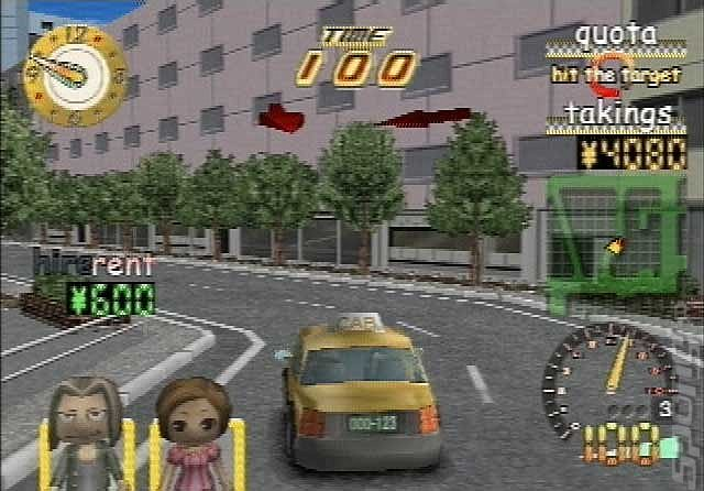 Taxi Rider - PS2 Screen