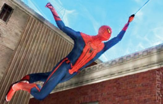 The Amazing Spider-Man - 3DS Screen