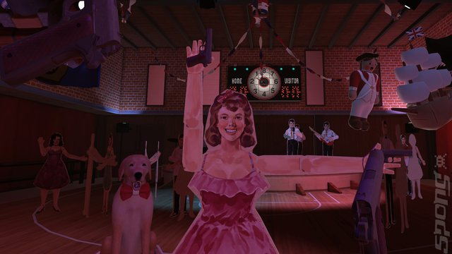 The American Dream - PS4 Screen