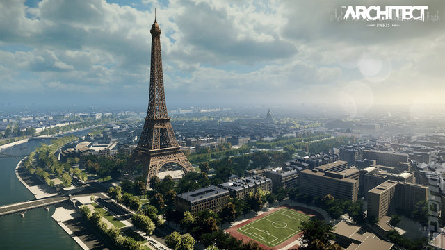The Architect: Paris - PC Screen