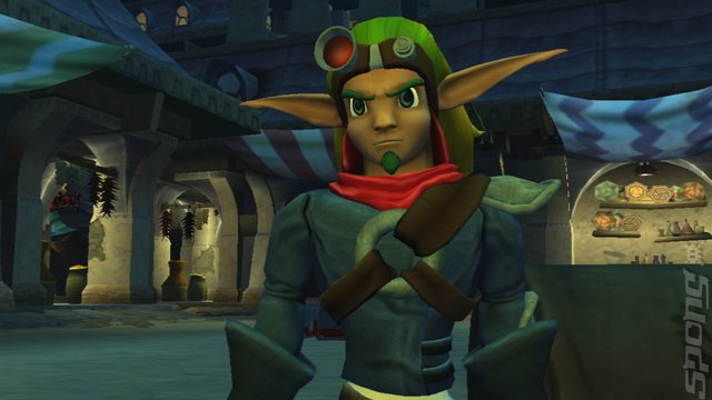 The Jak and Daxter Trilogy - PS3 Screen