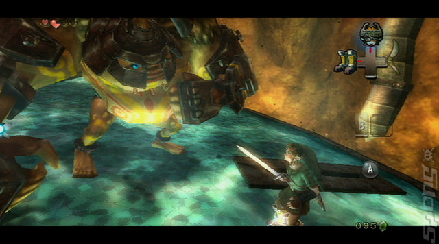 The Legend of Zelda: Twilight Princess - Wii Screen