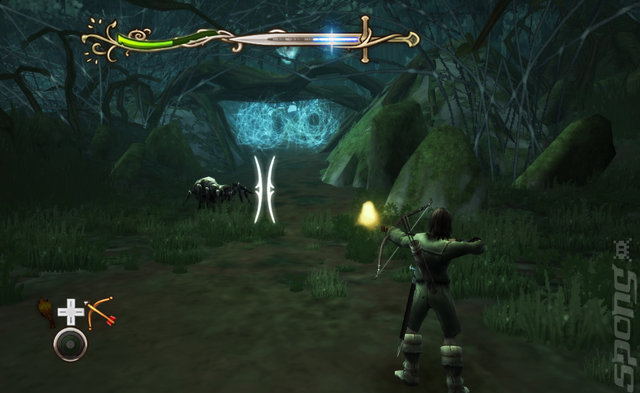 The Lord of the Rings: Aragorn's Quest - Wii Screen