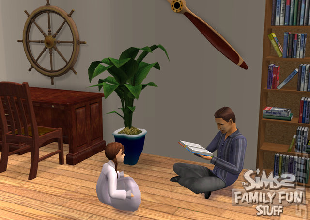The Sims 2 Family Fun Stuff - PC Screen