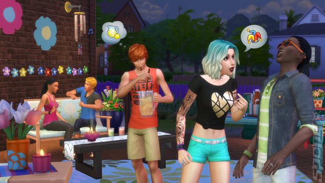The Sims 4: Bundle (Kidu0027s Room Stuff + Vampires U0026 Backyard Stuff)   PC