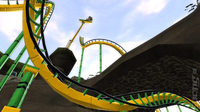Thrillville: Off the Rails - Xbox 360 Screen