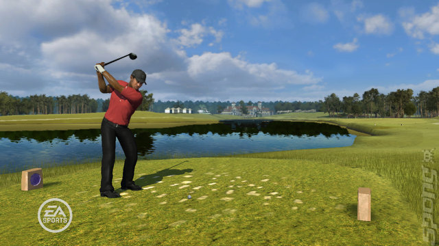Tiger Woods PGA Tour 09 - PS3 Screen