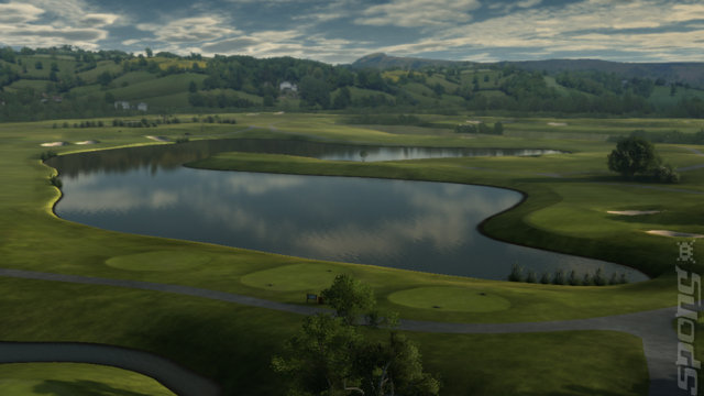 Tiger Woods PGA TOUR 11 - PS3 Screen