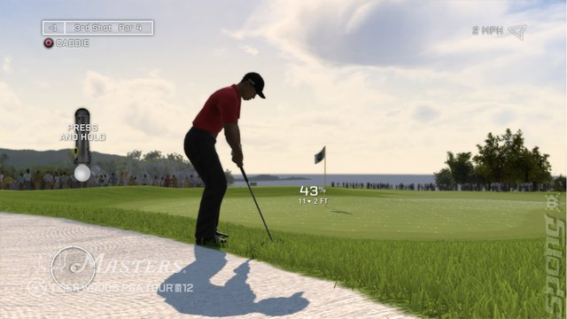 Tiger Woods PGA Tour 12: The Masters - PS3 Screen
