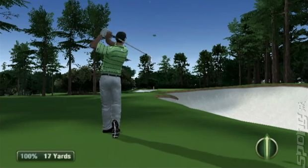 Tiger Woods PGA Tour 12: The Masters - Wii Screen