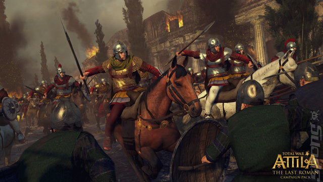 Total War: Attila: The Last Roman Editorial image