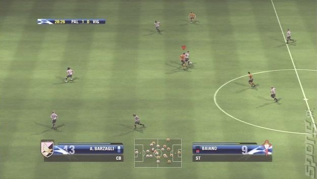 UEFA Champions League 2006-2007 - Xbox 360 Screen