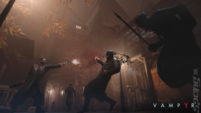 Vampyr - Switch Screen