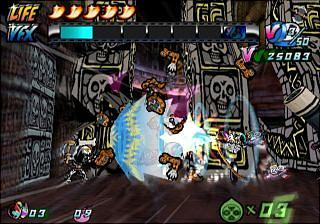 Viewtiful Joe 2 - PS2 Screen