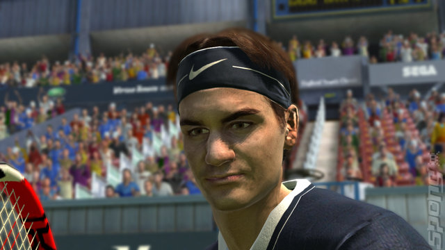Virtua Tennis 2009 - PC Screen