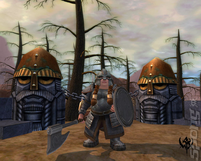 Warhammer Online: Age of Reckoning - PC Screen