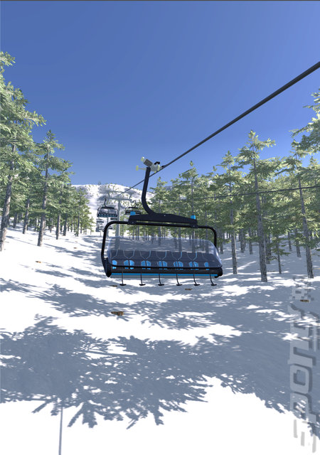 Winter Resort - PC Screen