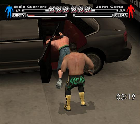 WWE SmackDown! Vs. RAW - PS2 Screen
