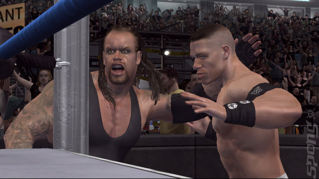 WWE Smackdown! Vs. RAW 2007 - Xbox 360 Screen