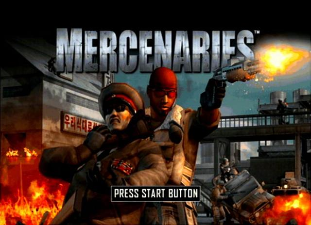 Mercenaries: Playground of Destruction - PS2 Screen