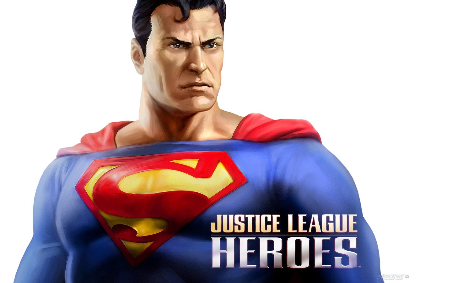 Justice League Heroes - PC Wallpaper