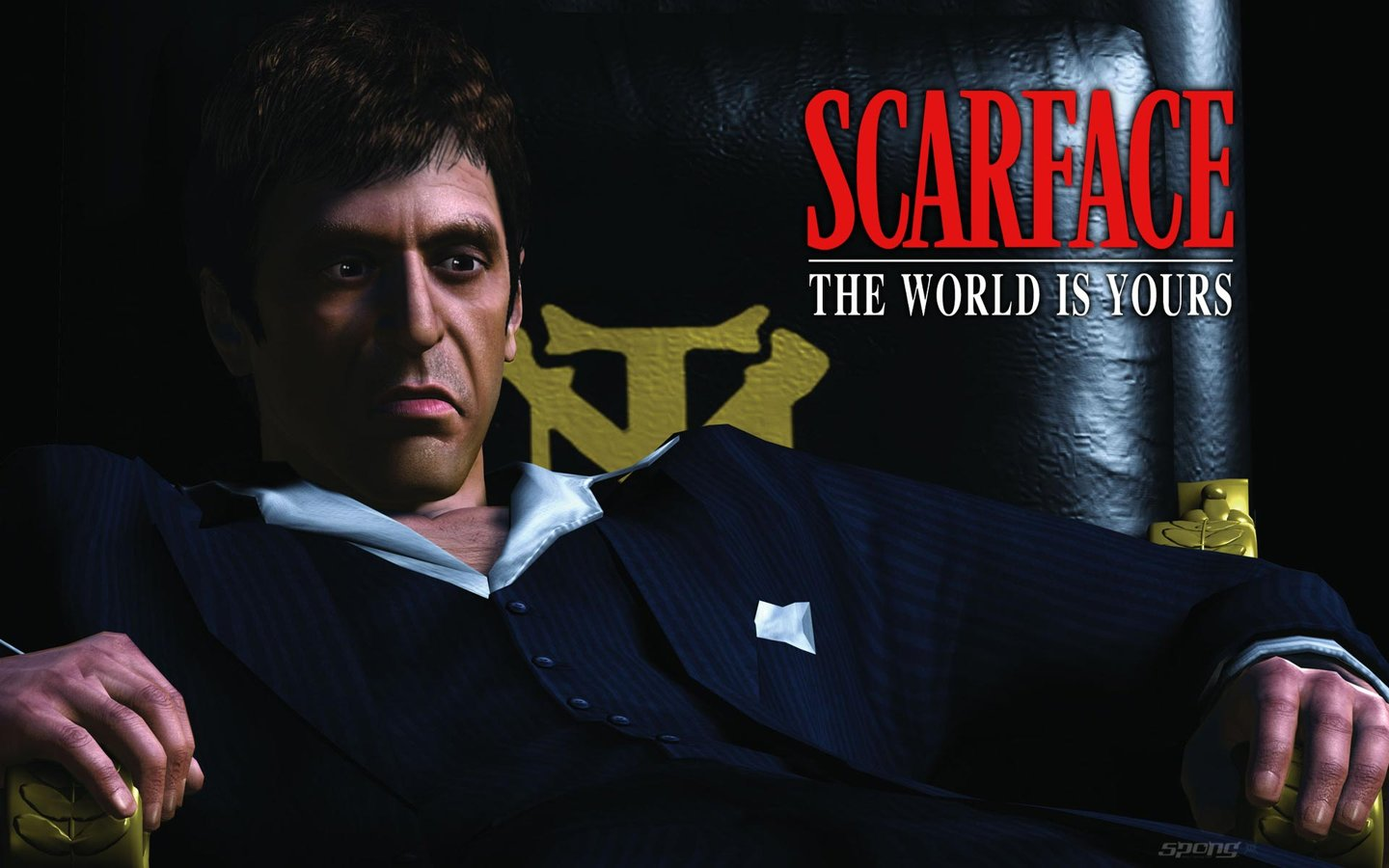 Wallpapers scarface the world is yours ps2 1 of 2 - The world is yours wallpaper ...